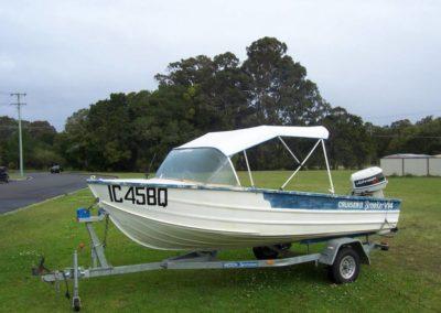 PVC Boat Canopy