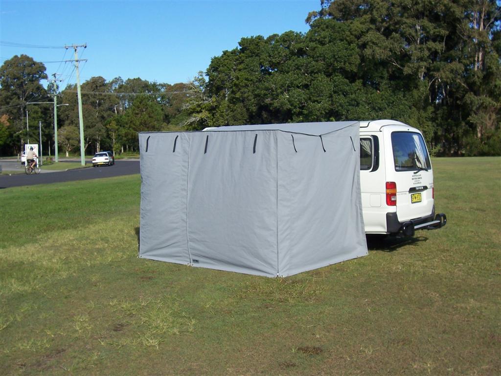 Van Tents & Products - Throw Over Van Tents - Undercover Canvas